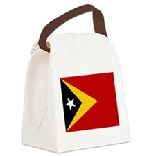 Timor-Leste Flag Canvas Lunch Bag