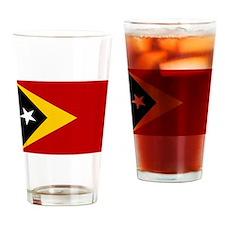 Timor-Leste Flag Drinking Glass