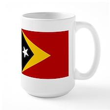 Timor-Leste Flag Mugs