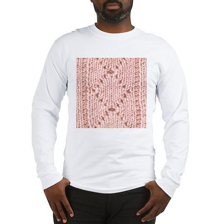 Pink Knitting - Crafty Long Sleeve T-Shirt