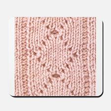 Pink Knitting - Crafty Mousepad