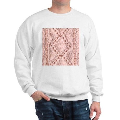 Pink Knitting - Crafty Sweatshirt