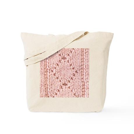 Pink Knitting - Crafty Tote Bag