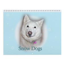 Snow Dog Wall Calendar