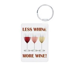LESS WHINE Keychains