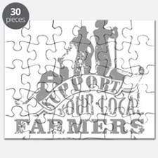 Support Your Local Farmers Puzzle