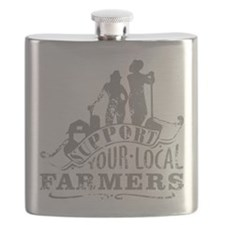 Support Your Local Farmers Flask