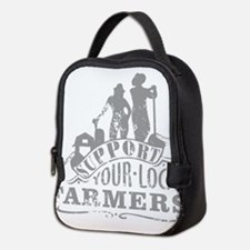 Support Your Local Farmers Neoprene Lunch Bag