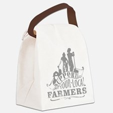 Support Your Local Farmers Canvas Lunch Bag