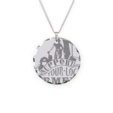 Support Your Local Farmers Necklace