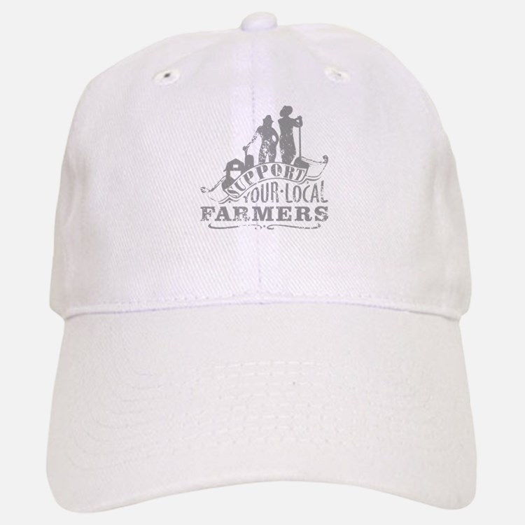 Support Your Local Farmers Baseball Baseball Baseball Cap