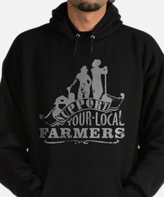 Support Your Local Farmers Hoody