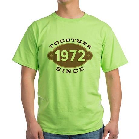 1972 Wedding Anniversary Gift T-Shirt