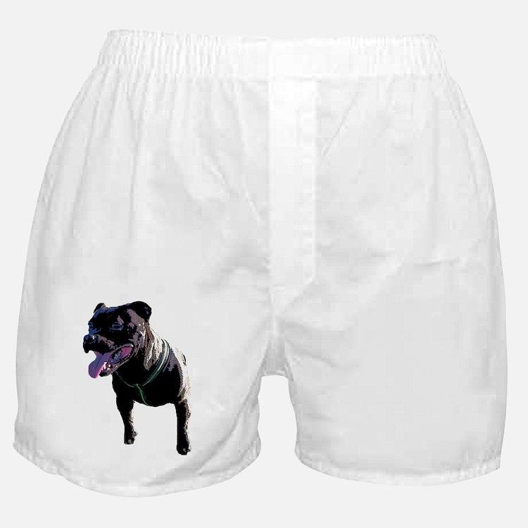 Cute Staffy Boxer Shorts