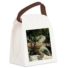 Water Dragon Canvas Lunch Bag