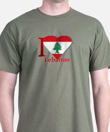 I love Lebanon T-Shirt