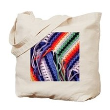 Crochet Fabric - Crafty Tote Bag