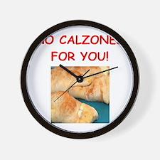 calzones Wall Clock