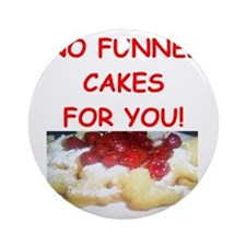funnel cakes Ornament (Round)