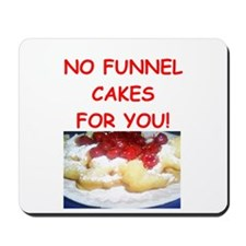 funnel cakes Mousepad