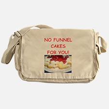 funnel cakes Messenger Bag