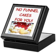 funnel cakes Keepsake Box