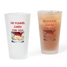 funnel cakes Drinking Glass