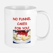 funnel cakes Mugs