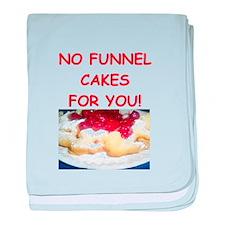 funnel cakes baby blanket