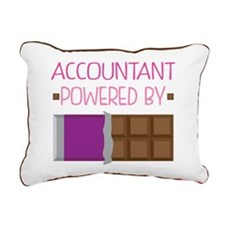 Accountant powered by ch Rectangular Canvas Pillow