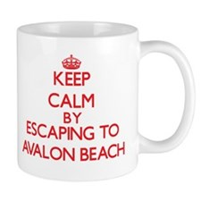 Keep calm by escaping to Avalon Beach California M
