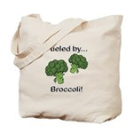 Fueled by Broccoli Tote Bag