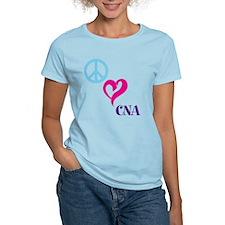 Peace Love CNA T-Shirt