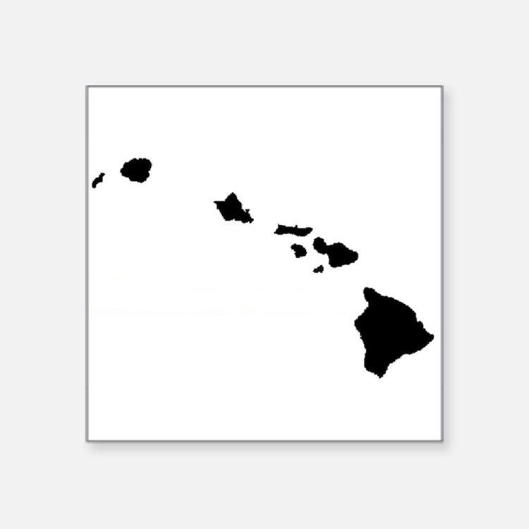 Hawaiian Islands Sticker