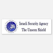 ISA: Shabak (Shin Bet) Bumper Bumper Sticker