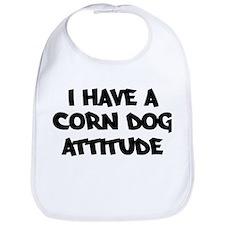CORN DOG attitude Bib