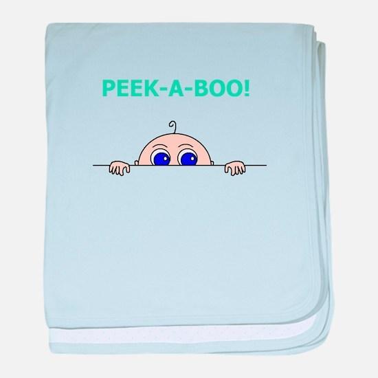 PEEK A BOO! baby blanket