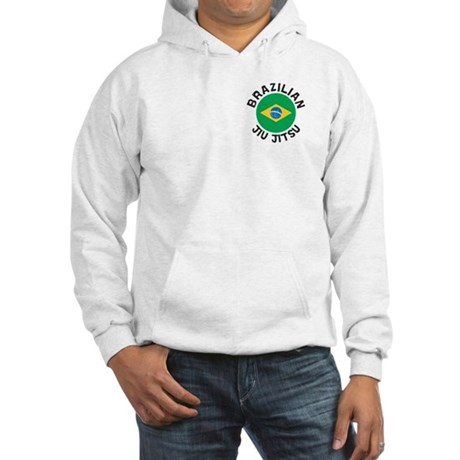"""BJJ"" Brazilian Jiu Jitsu Hooded Sweatsh"