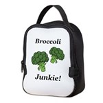 Broccoli Junkie Neoprene Lunch Bag