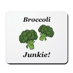 Broccoli Junkie Mousepad