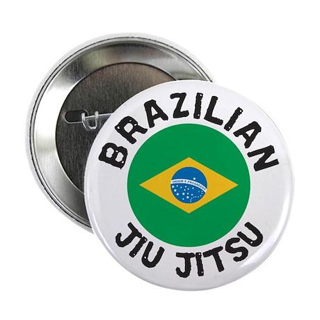 """""""BJJ"""" Brazilian Jiu Jitsu Button (Badge)"""