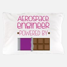 Aerospace engineer powered by chocolat Pillow Case