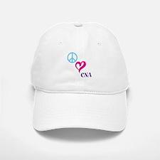 Peace Love CNA Baseball Baseball Baseball Cap