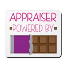 Appraiser powered by chocolate Mousepad