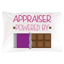 Appraiser powered by chocolate Pillow Case