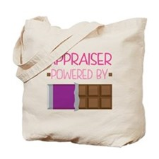 Appraiser powered by chocolate Tote Bag