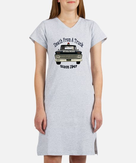 Death From A Truck Since 1947 Women's Nightshirt