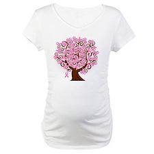 breast cancer pink ribbon tree Shirt
