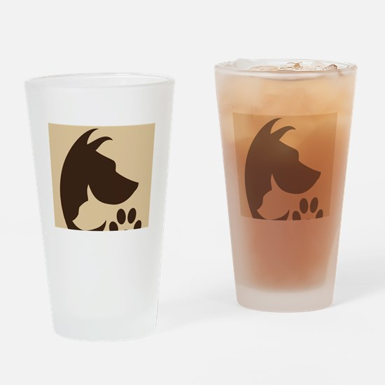 With Love for the Animals  Drinking Glass