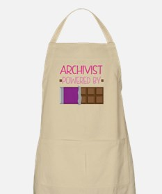 Archivist powered by chocolate Apron